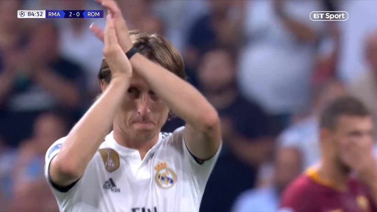 Football on BT Sport's photo on Modric