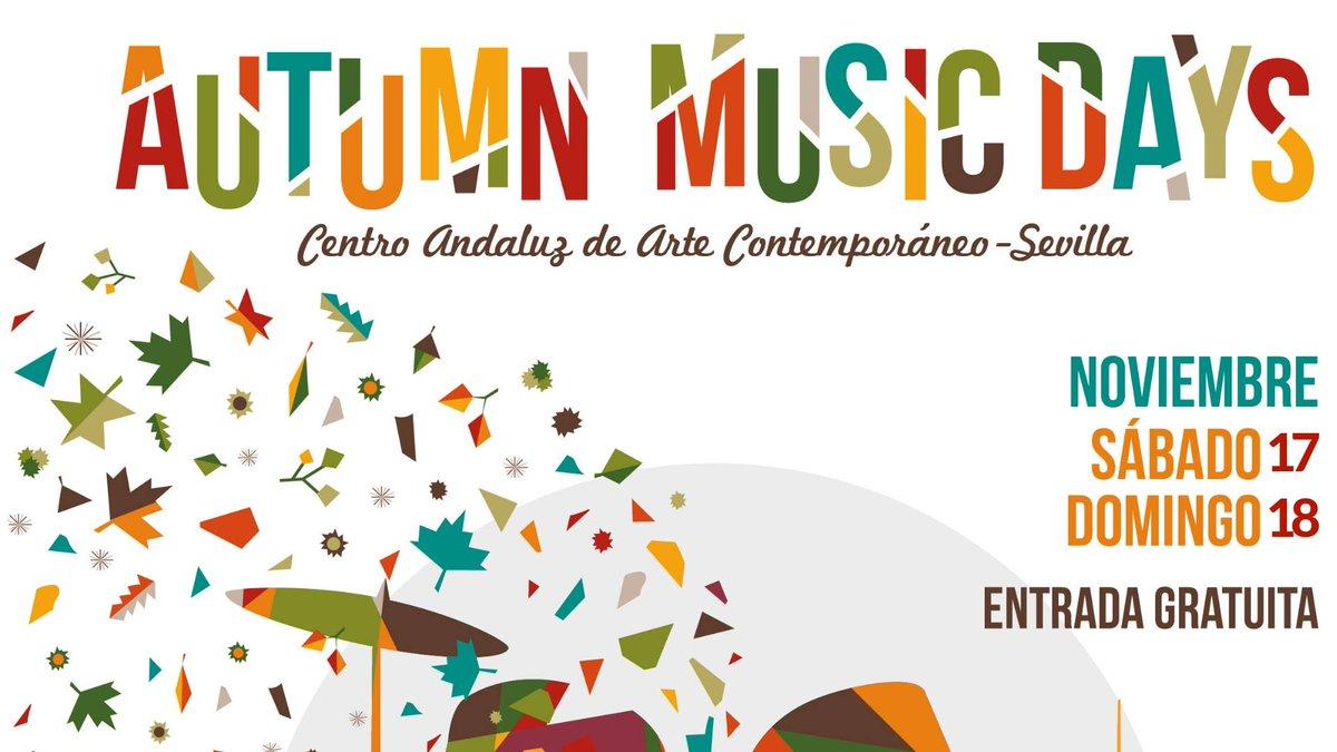 En noviembre estaremos en el #AutummMusicDays organizado por @SEVILLAesPOP 🤘 #concert #autumm #sevilla #caac #cartuja #festival
