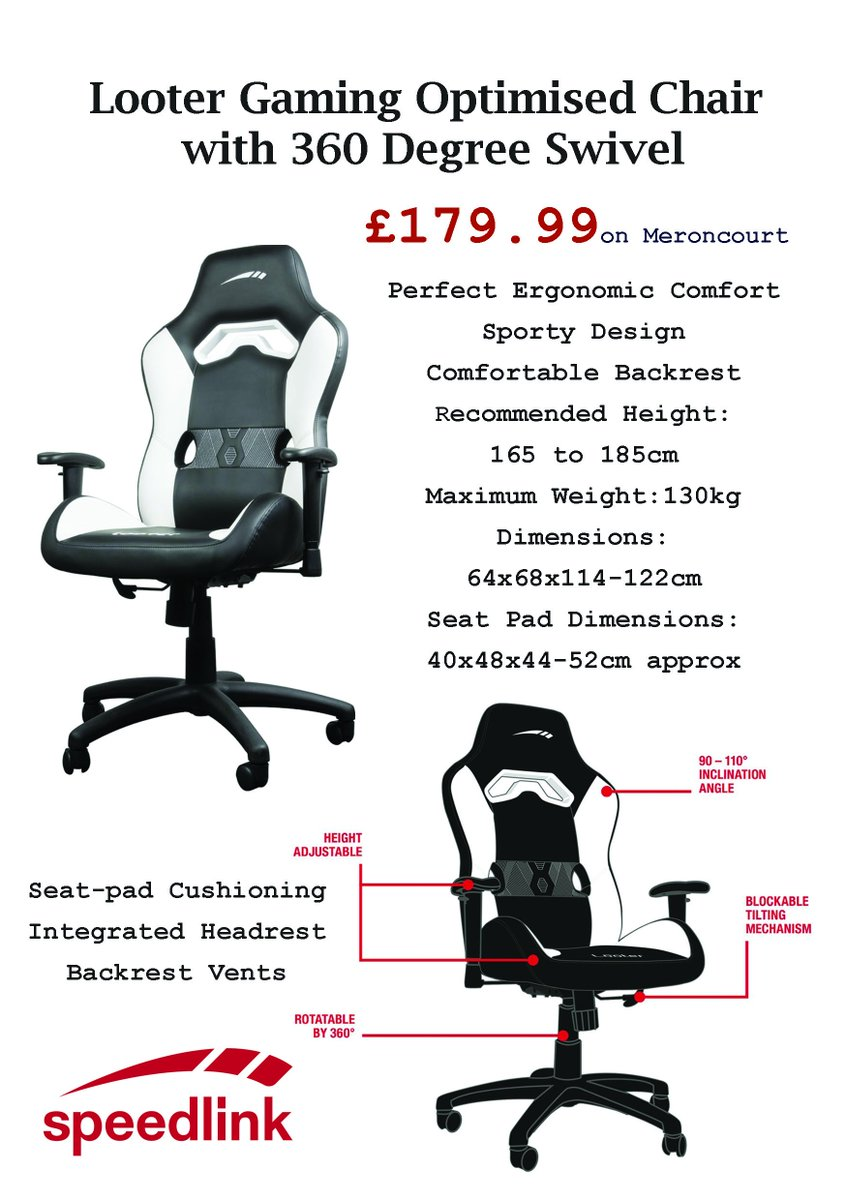 Strange Meroncourt On Twitter The Looter Gaming Chair Puts You Alphanode Cool Chair Designs And Ideas Alphanodeonline