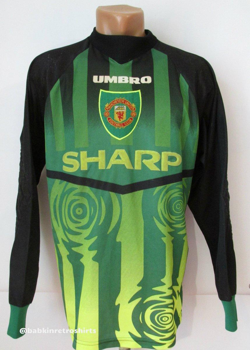 quality design 77916 60b04 Retro Manchester United Goalkeeper Shirt   Azərbaycan Dillər ...