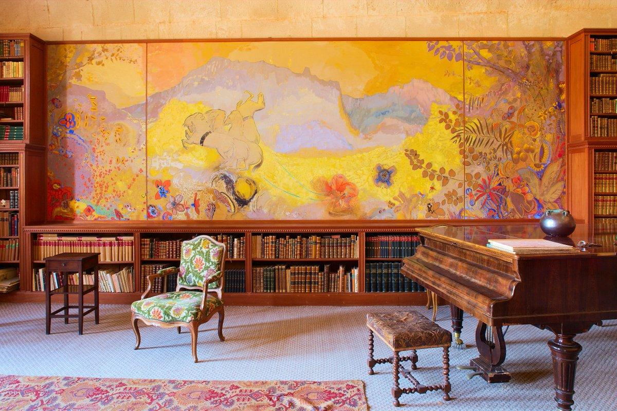 Dernières occasions pour visiter la bibliothèque Odilon Redon avant fermeture...