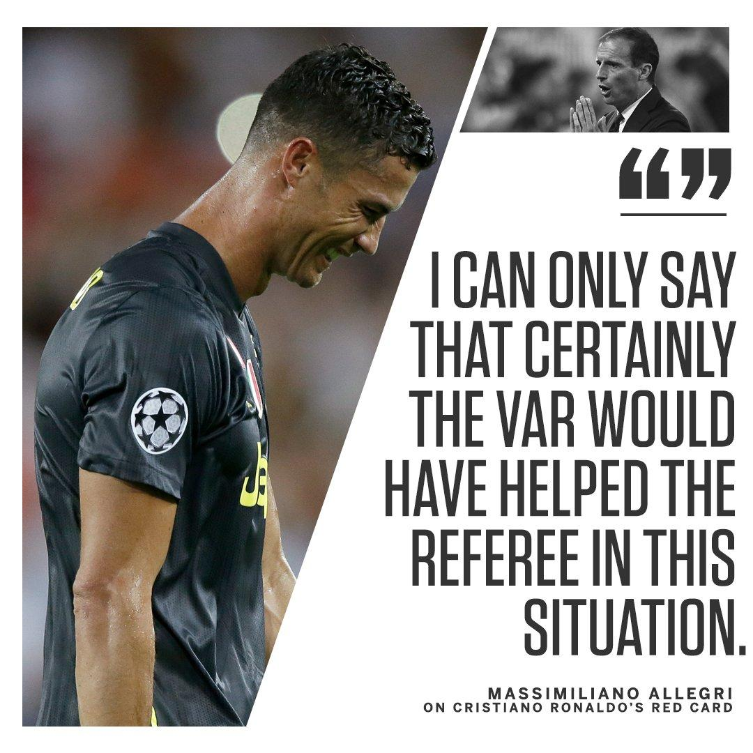 Would the VAR have saved Cristiano Ronaldo last night? 🤔