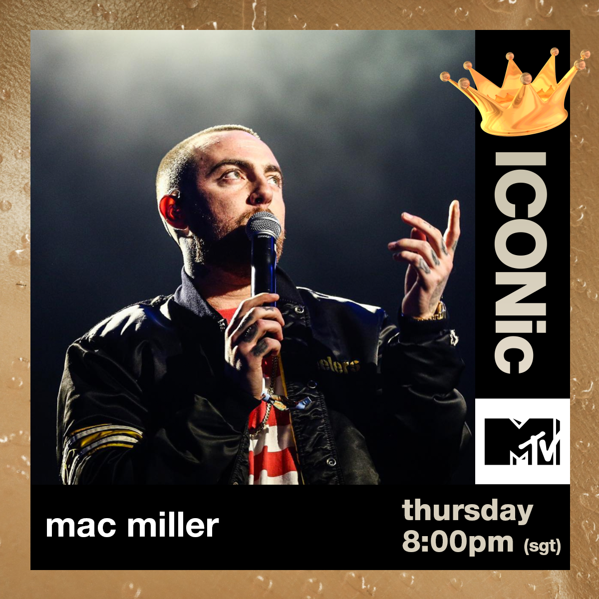 Our ICONic playlist this week goes to @MacMiller. Thank you for sharing your gift with us ❤️