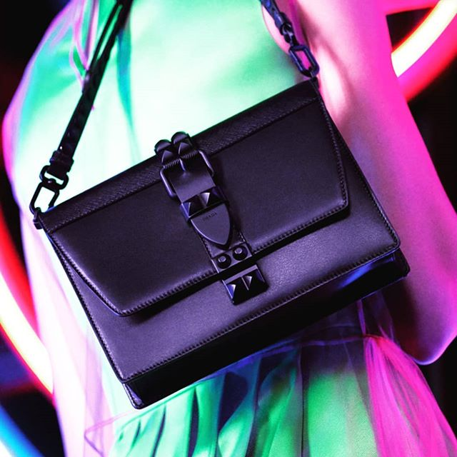 481cdb04867b78 ... spain the prada elektra bag with tone on tone studs. prada .  pradaneondreams pradafw18 prada365