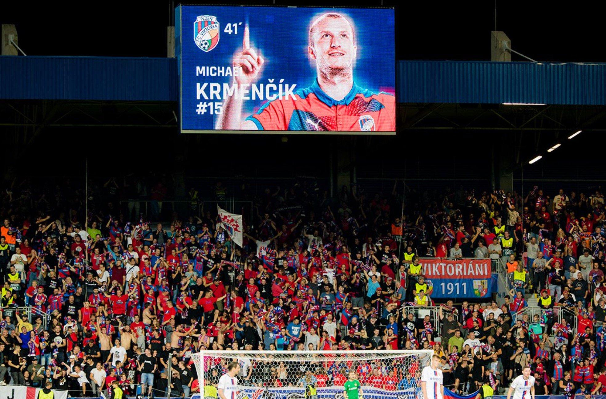 Krmencik Champions Roma Plzen