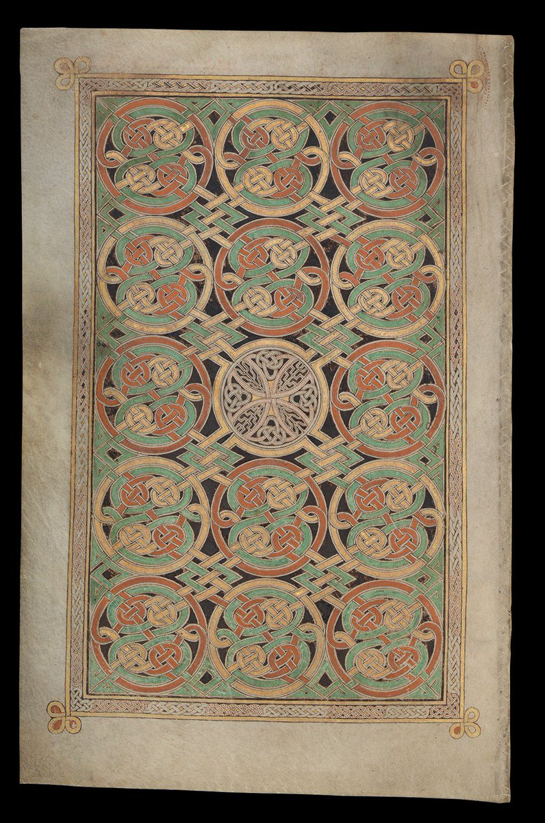 We're delighted that @tcddublin will be loaning the spectacular Book of Durrow to the Library for our landmark #BLAngloSaxons exhibition which opens in October. @BLMedieval explores this precious late 7th-century manuscript https://t.co/UMkO9zY0TX