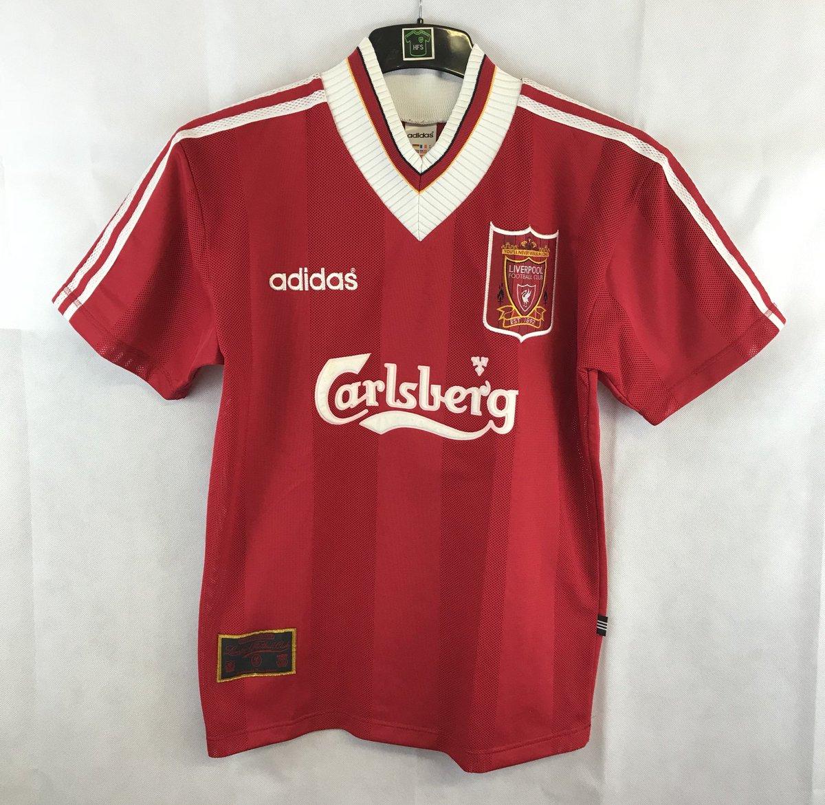 ... Football Shirt 1995 96 Adults Small Adidas  http   historicfootballshirts.co.uk shop liverpool-home-football-shirt-1995- 96-adults-small-adidas  … f9d3a4259