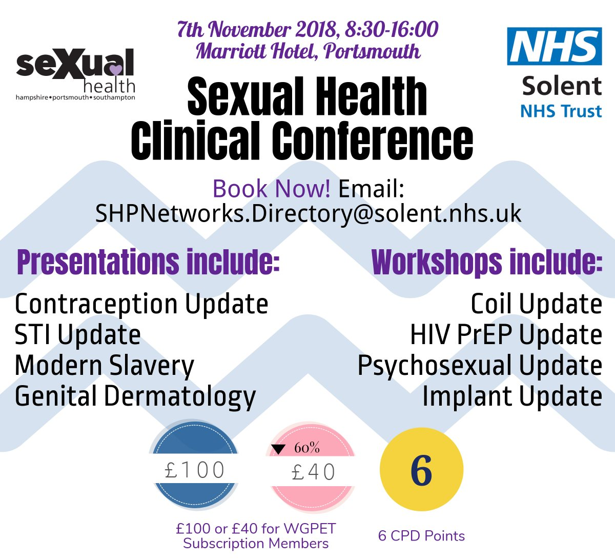 Sexual health weekend clinical nurse