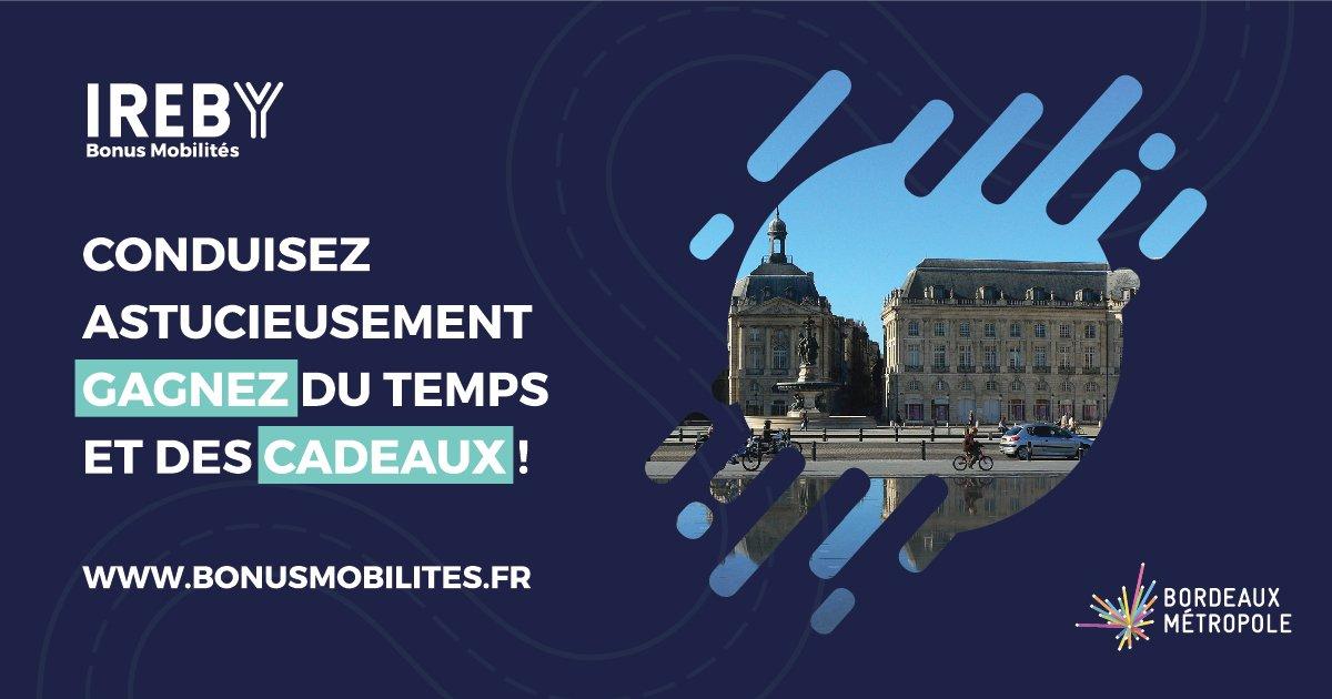 #sedéplacer | #Automobilistes, déplacez-vous autrement et gagnez de nombreux #cadeaux avec le #bonus #mobilité #bxmetro, jusqu'en juin 2019. Inscrivez-vous vite sur bonusmobilites.fr !@BxMetro @Villedebegles @VilledeLormont @Bordeaux https://t.co/8XYKU7CgRv