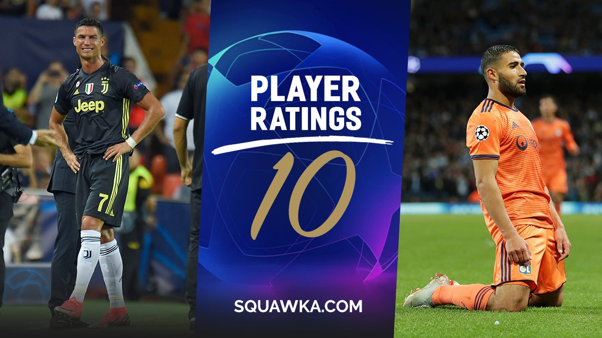 RATINGS: Every key player from last night's Champions League action marked out of 10 - https://t.co/IFFJ8GCTEj  Cristiano Ronaldo = 😳😳😳 Nabil Fekir = 🔥🔥🔥