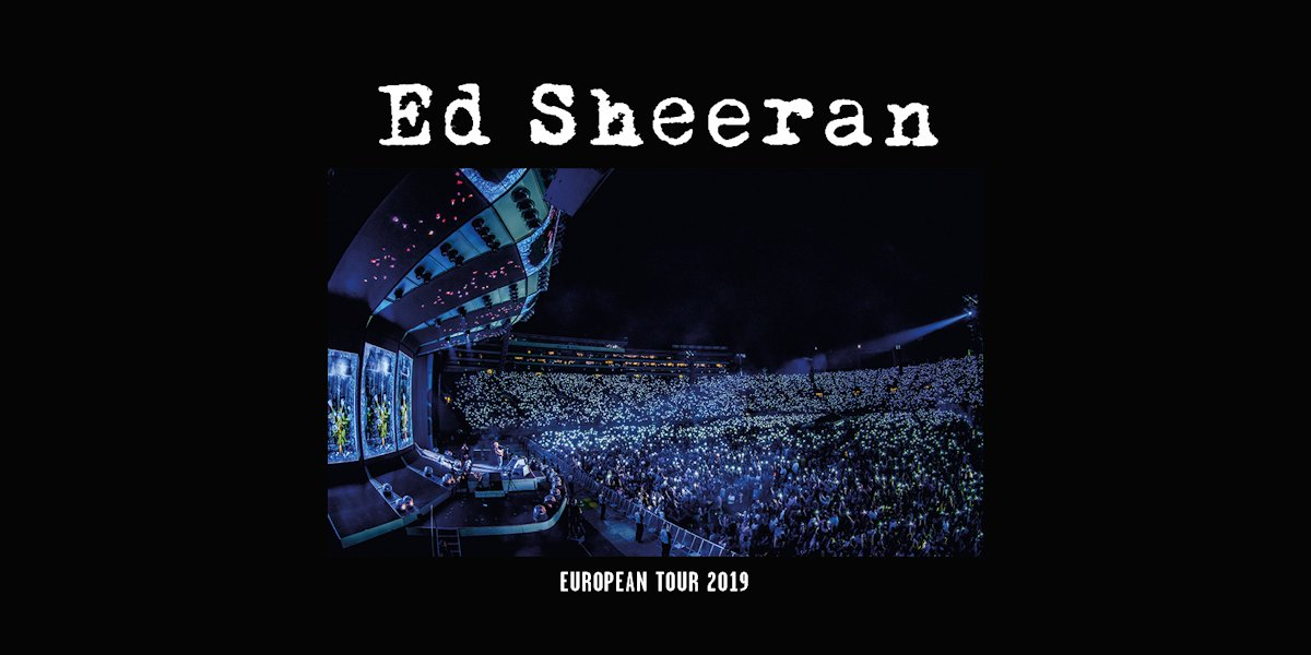 TicketOne's photo on Ed Sheeran