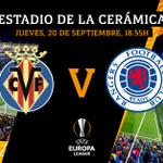 ¡D-Í-A D-E P-A-R-T-I-D-O para el Submarino! ¡Vuelve la #EuropaLeague grogueta! ¡Vamoooos 💪!🆚 @RangersFC⌚️ 18.55h🏟 Estadio de la Cerámica🏆 @EuropaLeague📅 Jornada 1 (MD1)📺 @MovistarPlus 📱 #UEL