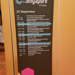 Image for the Tweet beginning: 2nd day of #ConsensusSingapore, feel