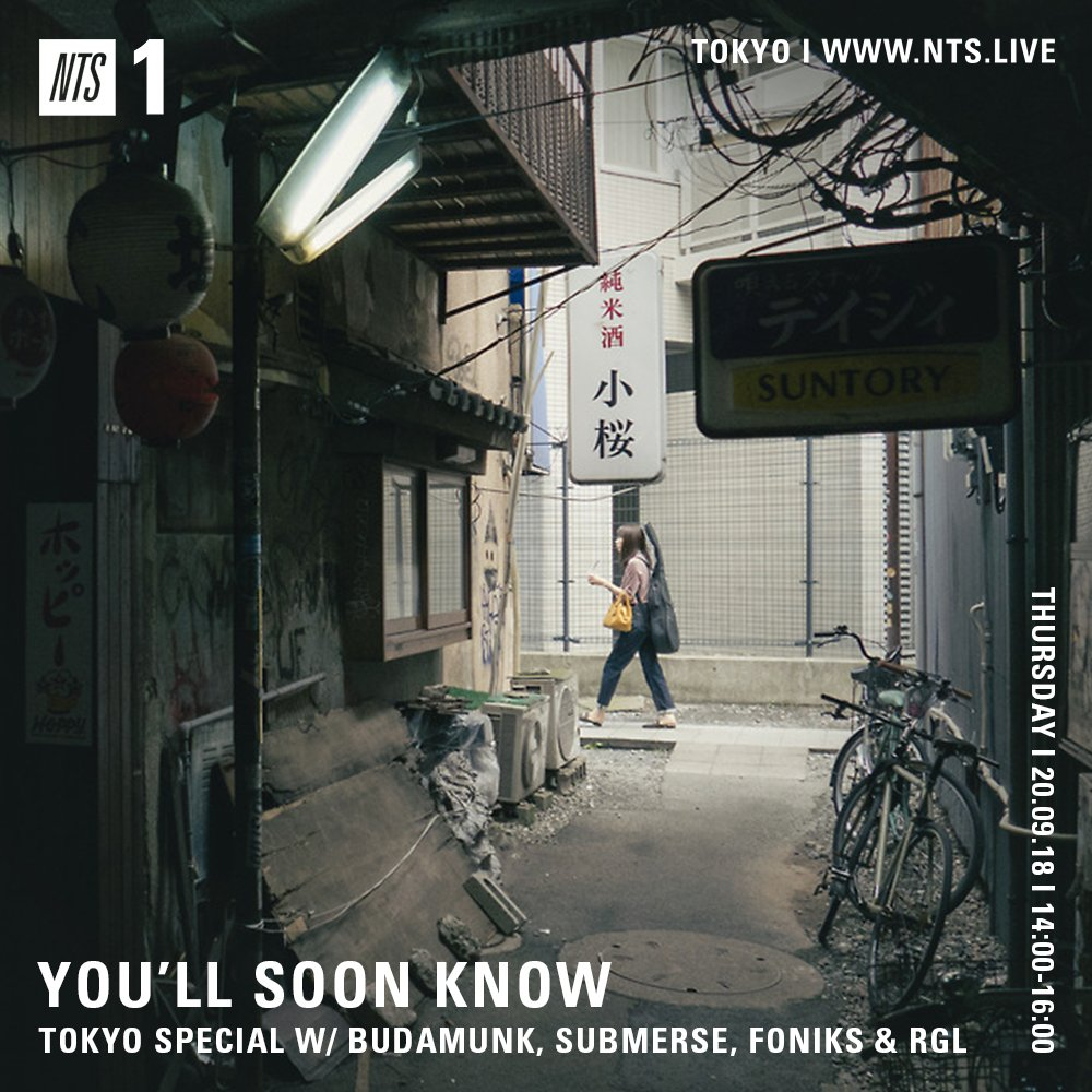 """4Pm Bst tim parker's tweet - """"back on @ntslive this afternoon from 2"""
