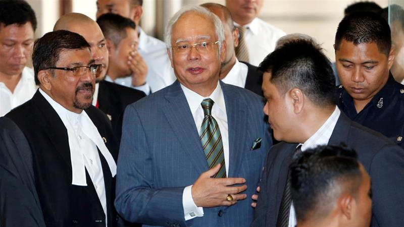 Malaysia's former prime minister has been charged with money laundering and abuse of power https://t.co/EcrsTmncIl