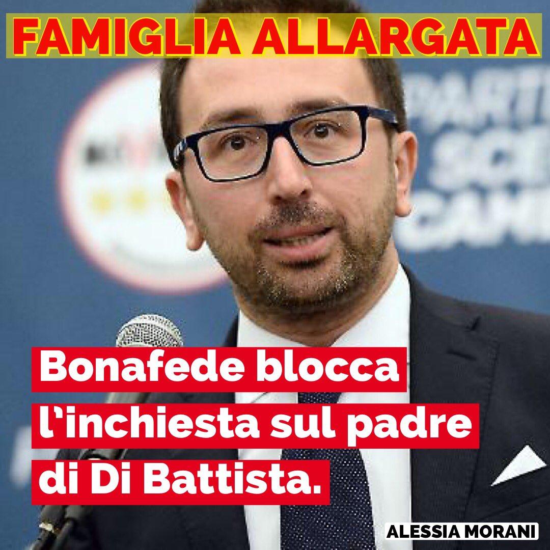 #Bonafede blocca l'inchiesta sul padre di #DiBattista per le offese al Capo dello Stato. Un guardasigilli in famiglia #M5s. Loro, quelli che gridavano ONESTÀ ONESTÀ  - Ukustom