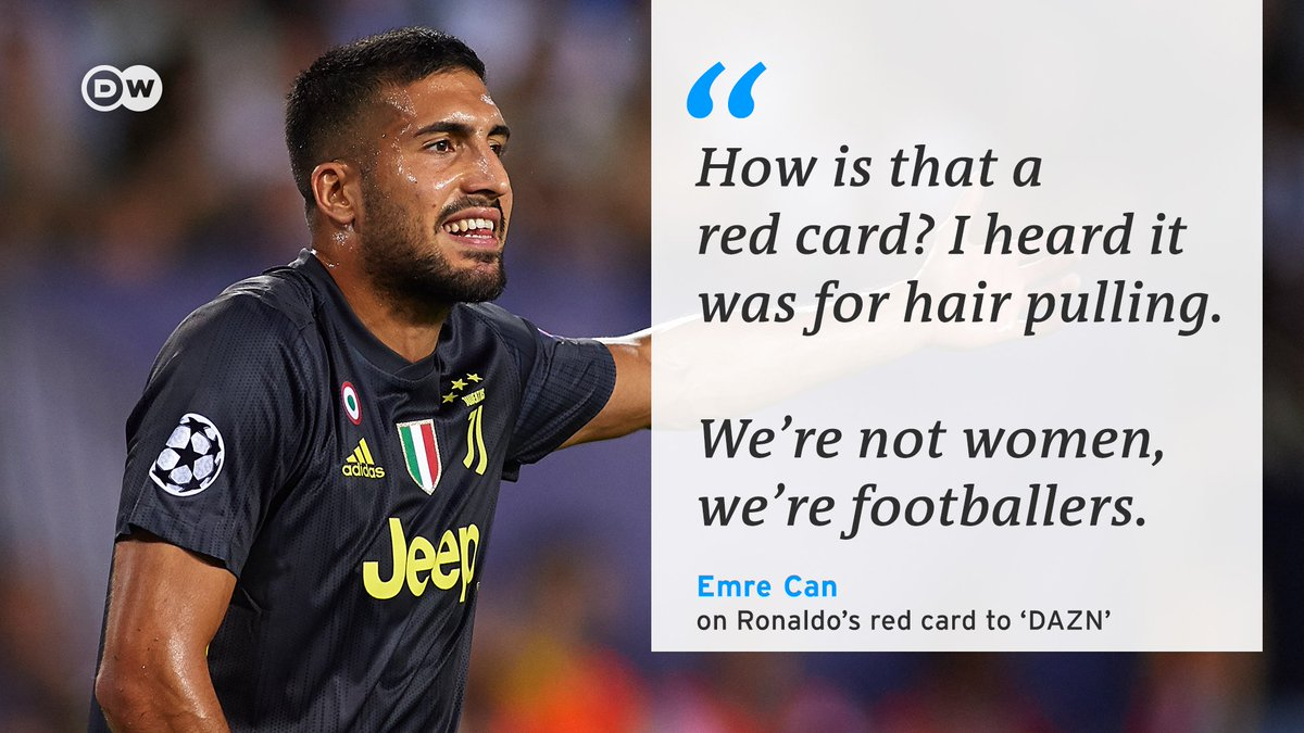 Really, @emrecan_ ? 🤨  Clearly he's never watched women's football before! ⚽️