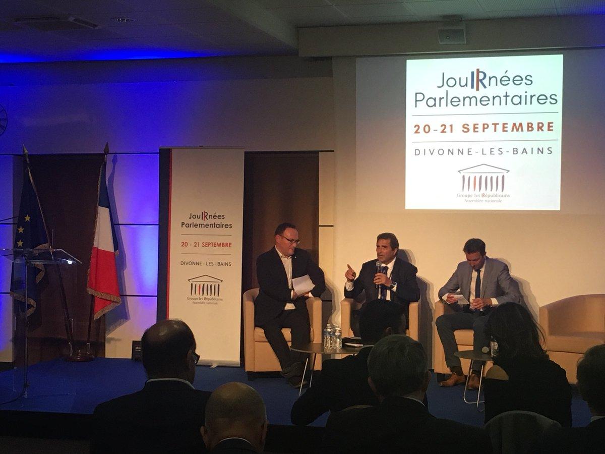Christian Jacob, @damienabad et @G_Peltier ouvrent les #JournéesParlementaires des @lesRepublicains consacrées aujourd'hui aux 20 propositions pour la ruralité en France #LaFranceDesTerritoires  - FestivalFocus