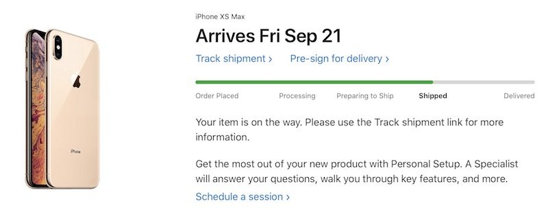 iPhone XS and iPhone XS Max Orders Now Shipping After Erroneous 'Shipment on Hold' Status https://t.co/a9v5u8lnXA by @rsgnl