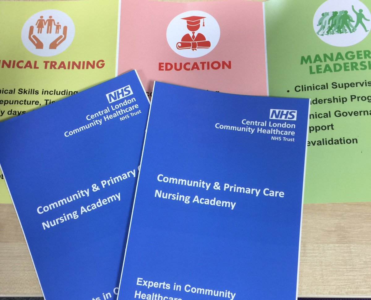 Excited to announce the launch of our academy for community healthcare staff and primary care nurses @CLCHNHSTrust