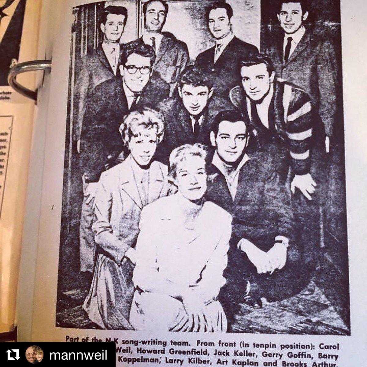 "Carole King on Twitter: ""#ThrowbackThursday The Aldon Music family ..."