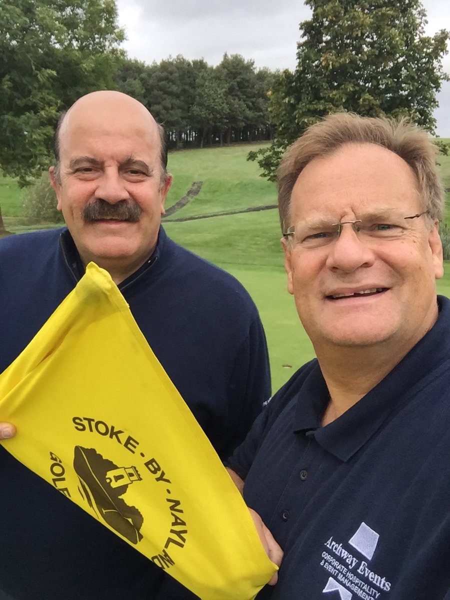 Another really enjoyable 18 holes with my friend @TheWillieThorne playing on the Constable Course @SbNHotel on the Neal Cole Memorial Golf Day, sponsored by Graham Ipswich
