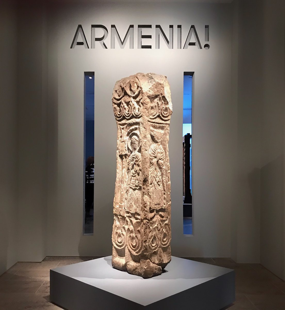 """This morning we're at the press preview for """"Armenia!"""" https://t.co/PUY1gfqX4b #MetArmenia"""