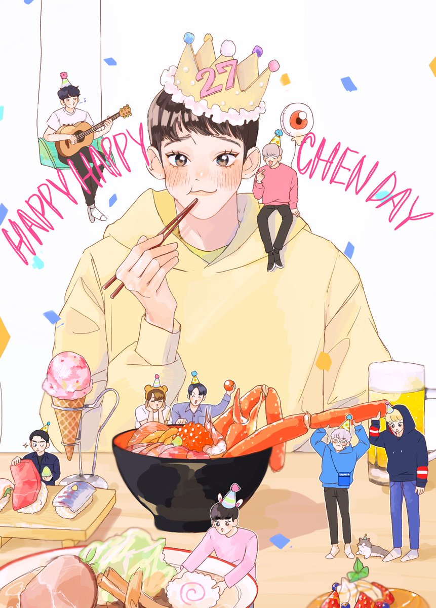 ☁️namunamu☁️'s photo on #happybirthdaychen