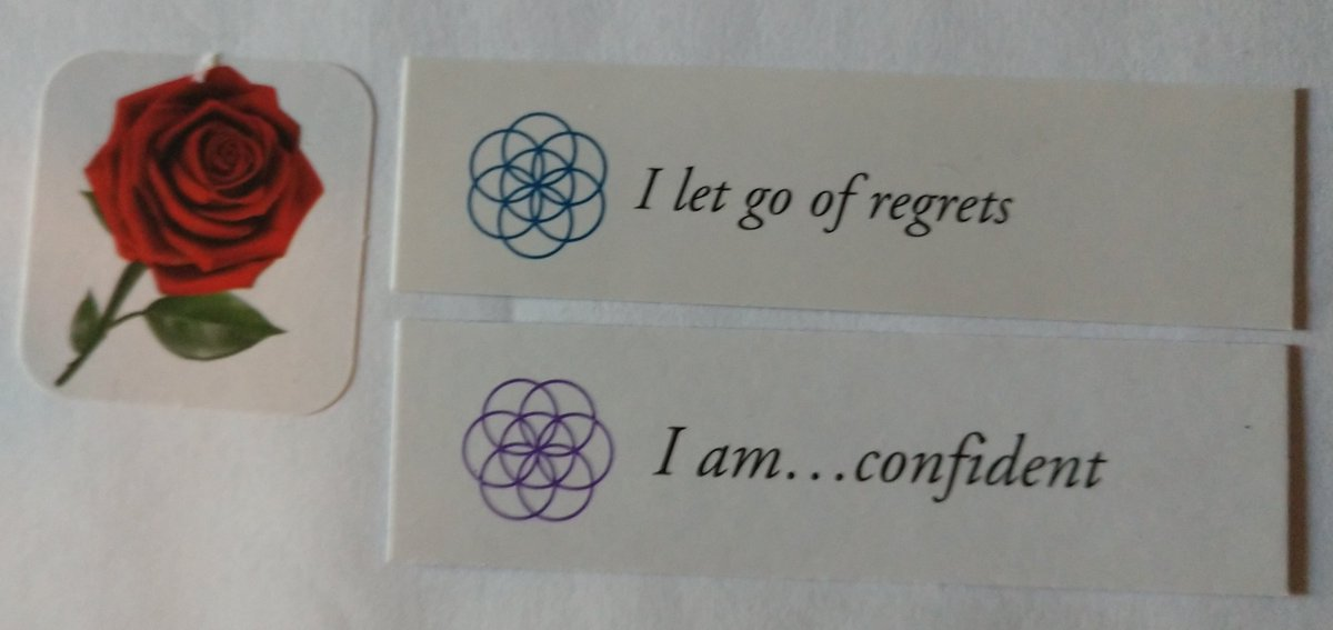 "test Twitter Media - Today's Positive Thoughts: I let go of regrets and I am...confident. Randomly selected from ""I am"" and ""Letting Go"" card sets #affirmation https://t.co/GQ8qAhHi53"