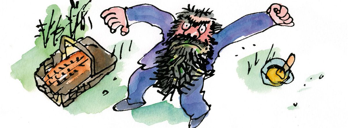 """Roald Dahl Museum on Twitter: """"""""Mr Twit was a twit. He was born a twit. And  now at the age of sixty, he was a bigger twit than ever."""" - The Twits"""