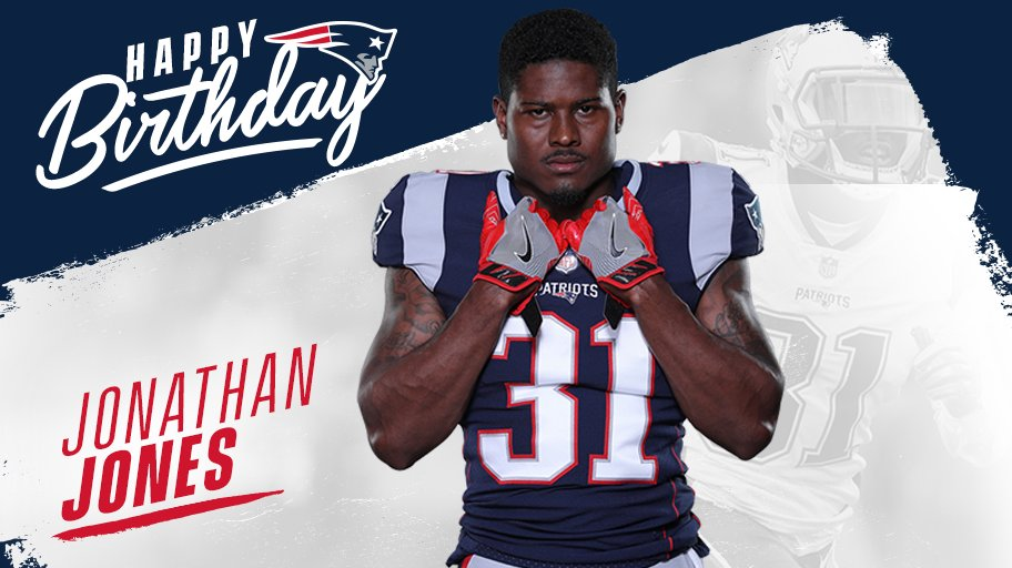 Happy birthday, @Jonathan_Jones2!    #GoPats https://t.co/vsGcG26iB0