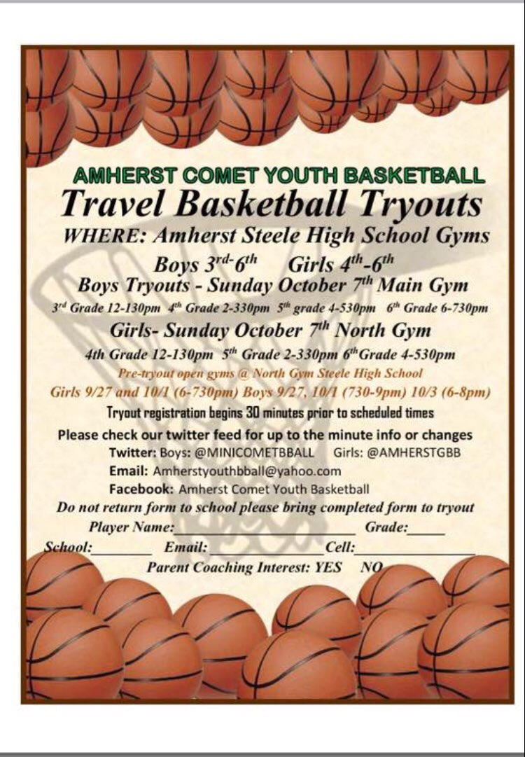 Amherst Youth Bball (@Minicometbball) | Twitter