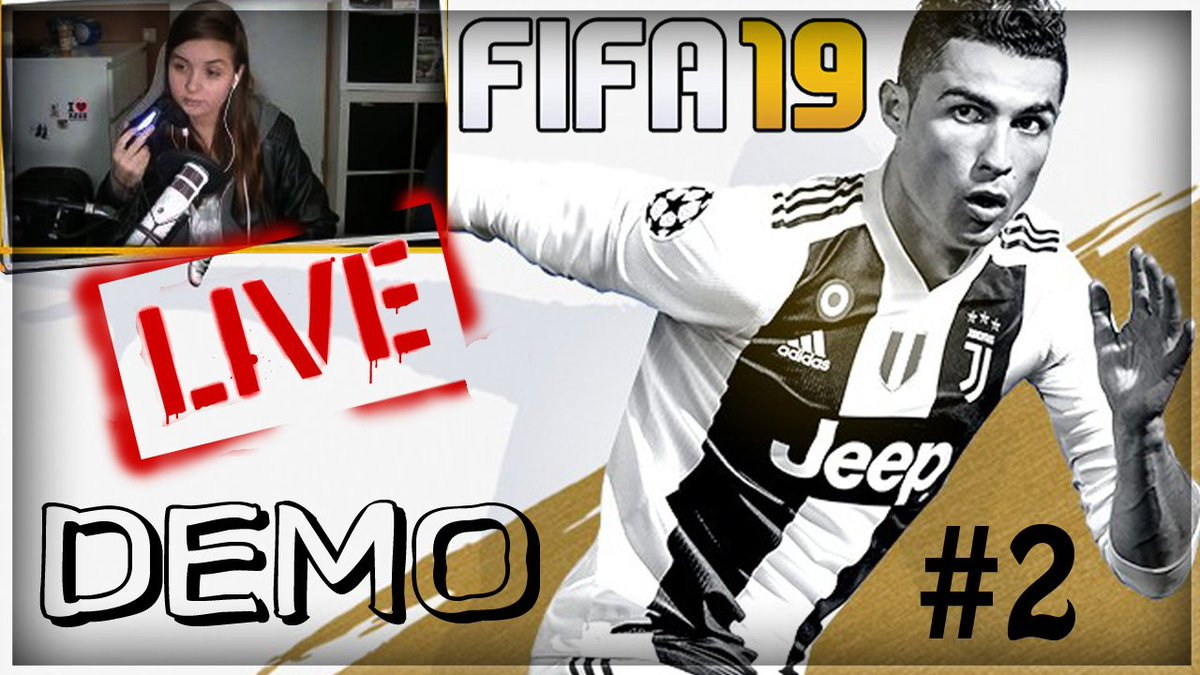 FIFA 19 DEMO LIVESTREAM UPLOAD NOW ONLINE!! :D CHECK IT OUT --> youtube.com/watch?v=Gouqhu…