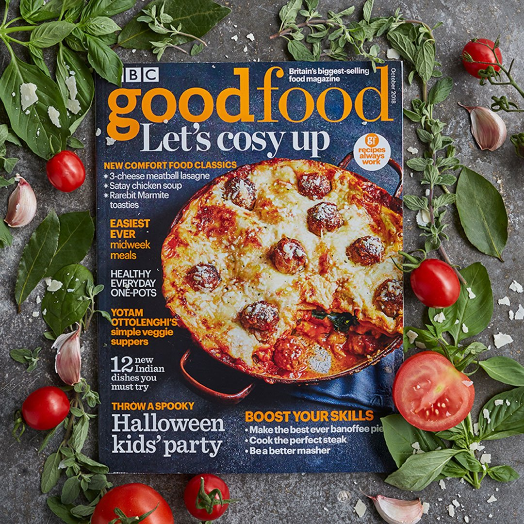 Bbc good food on twitter our october magazine is here this plus healthy one pots speedy midweek meals more httpsbbcgoodfoodmagazinesbbc good food magazine picitterhutqfjbtbb forumfinder Image collections