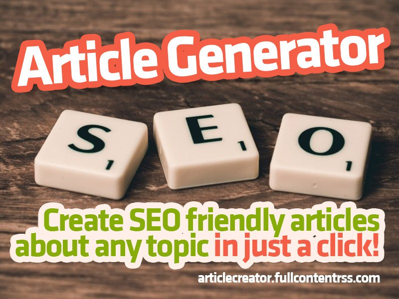 ARTICLE CREATOR ONLINE! Create SEO friendly UNIQUE articles in a click! pic.twitter.com/YfY8ge2Pa2 * 2 Handy Google AdWords Tricks to Help Boost Your SEO #onlinemarketing #blogging http://dlvr.it/Rb7V2w