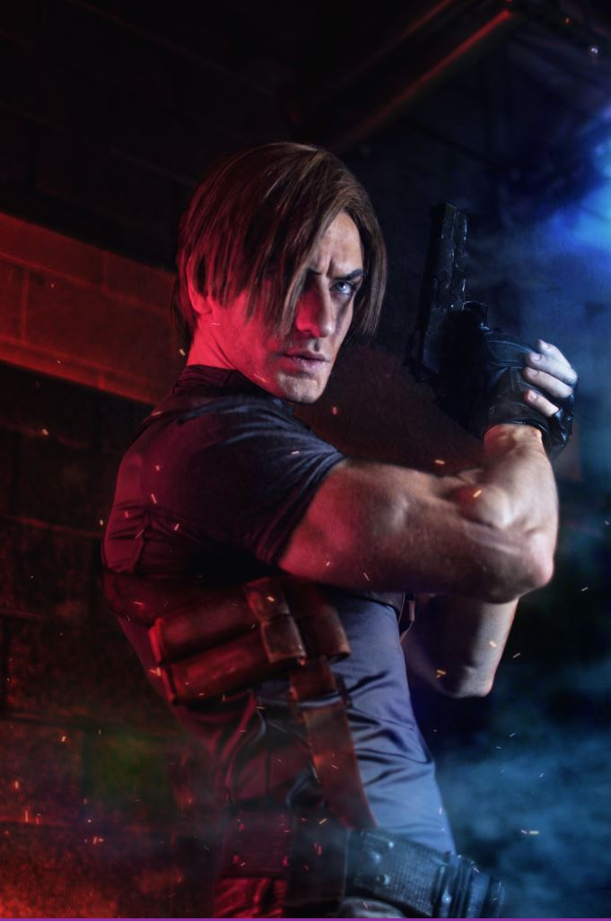 Saddler, youre small-time. Check out this weeks #FanartFriday feature, an awesome Leon cosplay from @Leon_Chiro! More work from him here: Instagram: leonchiro Twitter: @Leon_Chiro