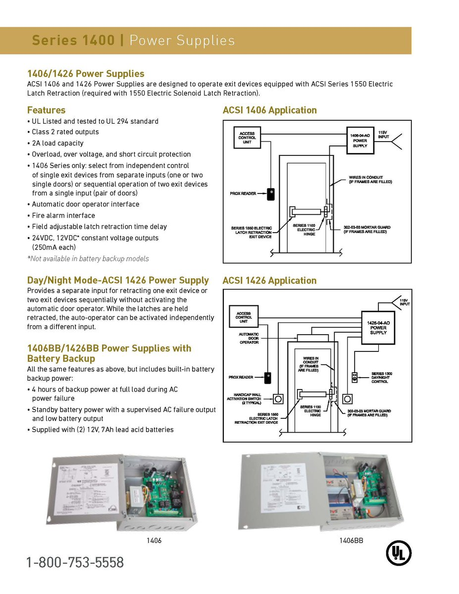 Acsi Inc Twitter Electric Latch Retraction Wiring Diagram Series 1400 Catalog Section Power Supplies Can Be Found At Http Buffly 2xxn50l Pic Edri0rtwmi