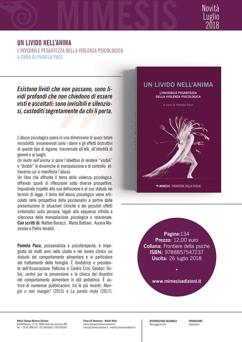 Un #libro che parla di #abuso e #violenza #psicologica Un livido nell\