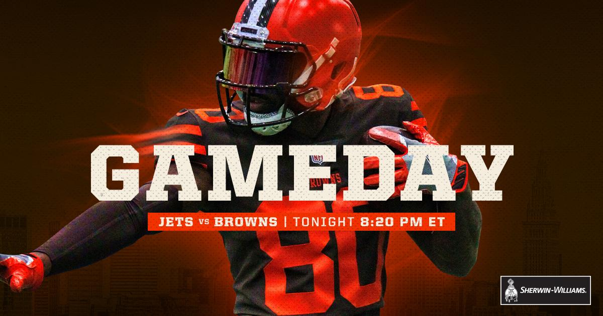 Tonight's the night!  RT if you're ready for GAMEDAY! ����  #NYJvsCLE https://t.co/jzeVFga2Qe