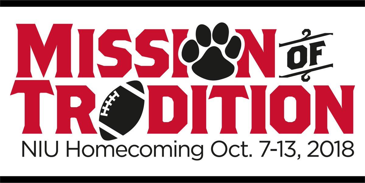 Festivities for the 112th #NIU Homecoming kick off Oct. 7! Visit niu.edu/homecoming for event details. #HuskiePride