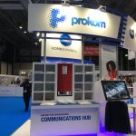Image for the Tweet beginning: From Valencia to @theprintshow talking