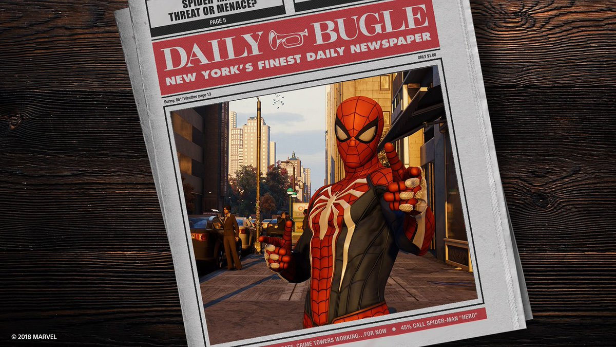Marvel's Spider-Man is setting records! It's now the fastest-selling first-party PlayStation title, selling 3.3M+ in its first 3 days. Thanks to all the fans, and congrats to @InsomniacGames & @MarvelGames! #SpiderManPS4
