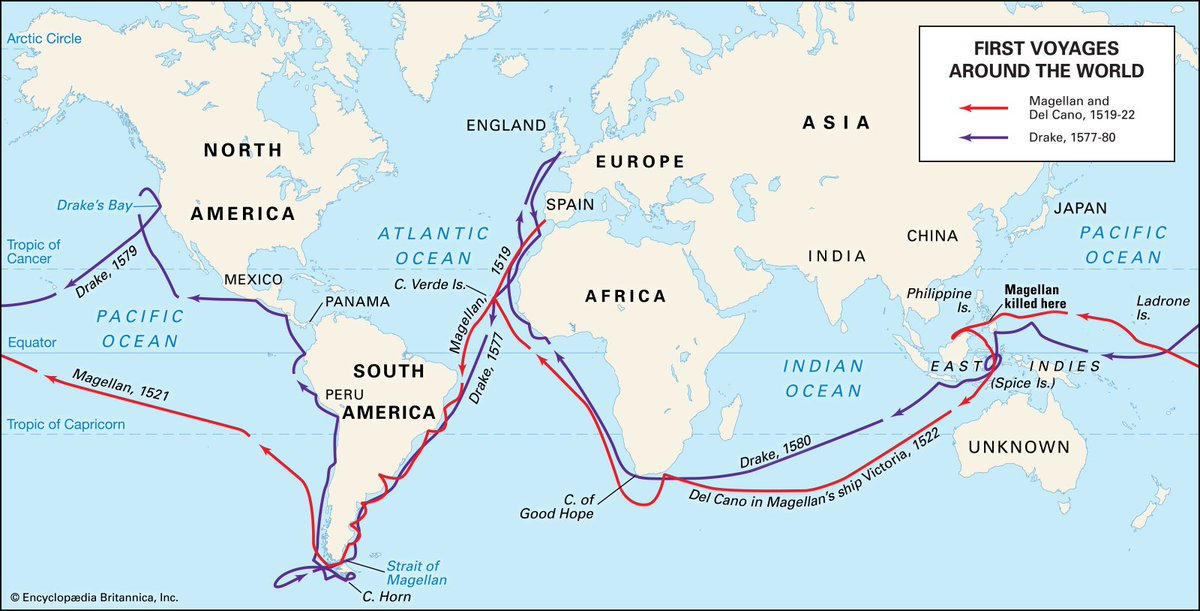 a history of the voyage of ferdinand magellan in 1519 Magellan was killed there, but his crew went on from there to become the first explorers in history to go all the way around the world he discovered new animals -penguins, and animals in south america that he called camels without humps (probably llamas.