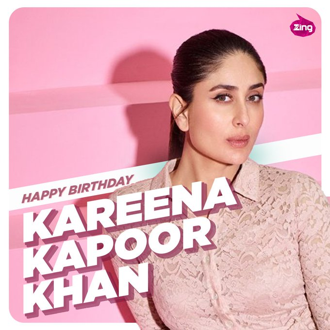 Zing wishes Kareena Kapoor Khan a very Happy Birthday.