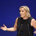 Marine Le Pen Twitter Photo