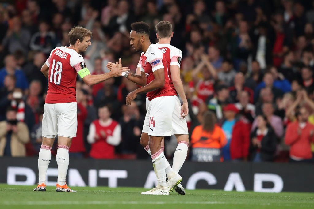 UEFA Europa League Report: Arsenal v Vorskla 20 September 2018