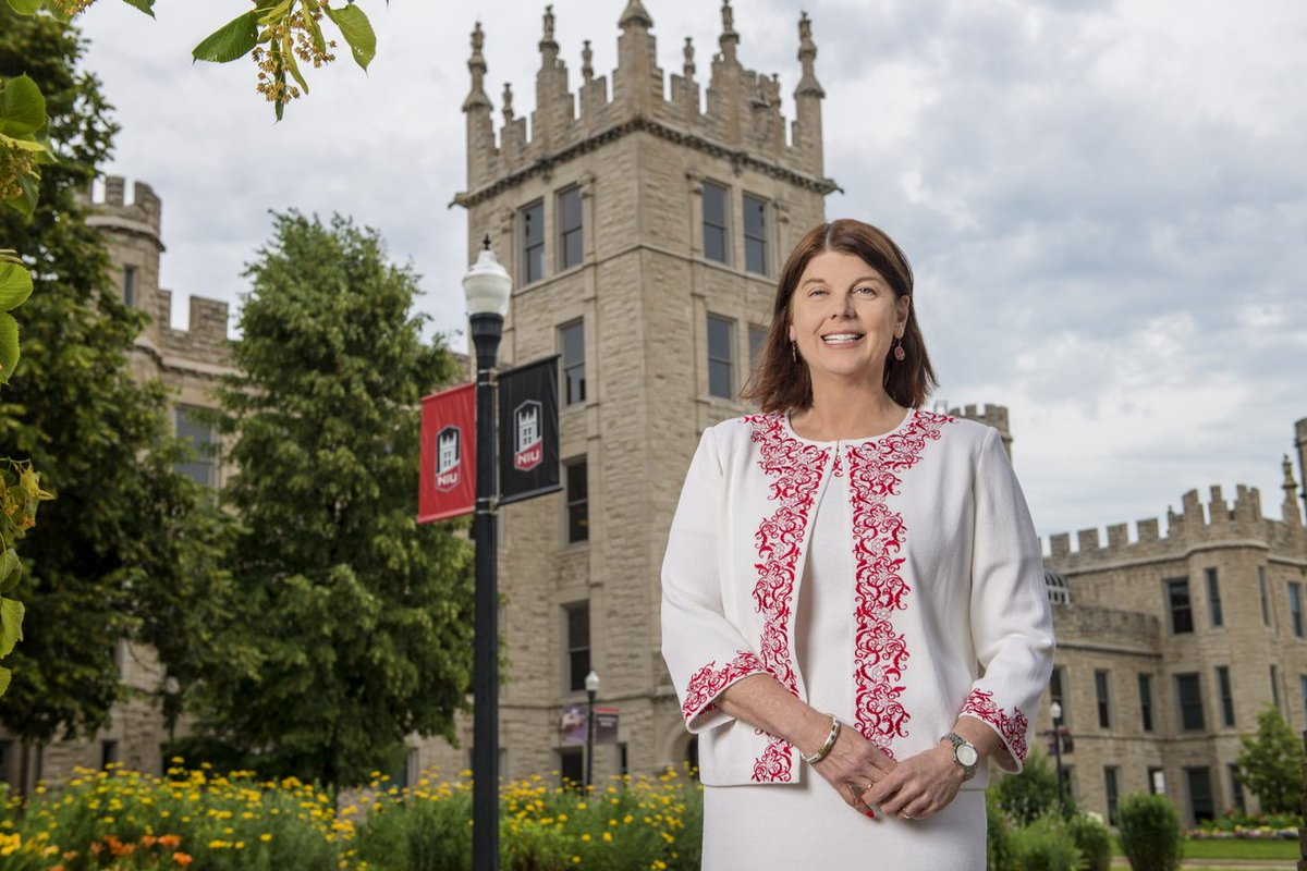 The NIU Board of Trustees today appointed Dr. Lisa C. Freeman president of NIU. Freeman, who has served as acting president since July 2017, begins the appointment immediately as NIU's 13th president. She is the first woman in that role. go.niu.edu/uer9fx