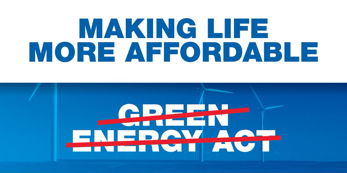 Ontario PC's scrap Liberal Green Energy Act