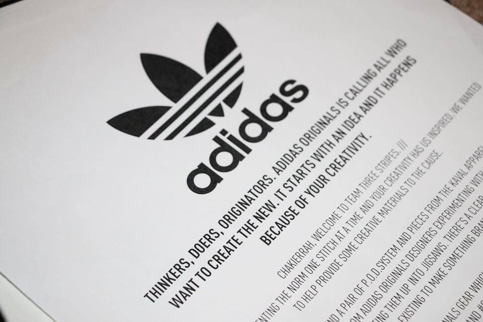 31f1aaec82e so excited to share that adidas actually reached out to me they love the  designs ive