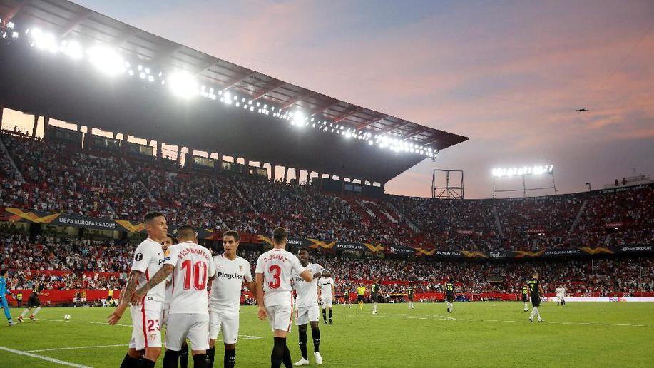Hasil Liga Europa: Sevilla Menang Telak, Villarreal Diimbangi Rangers https://t.co/Y1yTLI7KI3 via @detiksport https://t.co/lDlimHsp2E